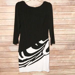 Cache black & white Dress